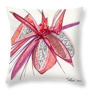 2012 Drawing #4 Throw Pillow