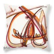 2012 Drawing #8 Throw Pillow