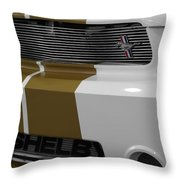 2012 Ford Mustang Shelby American 50 Years 1962-2012 Throw Pillow