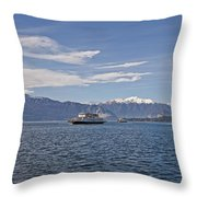 Lake Maggiore Throw Pillow