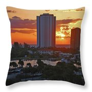 21- Phil Foster Park- Singer Island Throw Pillow