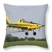 Plane Throw Pillow