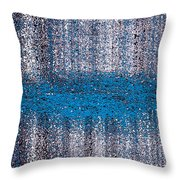 Color Rust Throw Pillow