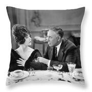 Film Still: Eating & Drinking Throw Pillow by Granger
