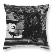 Franklin D. Roosevelt Throw Pillow