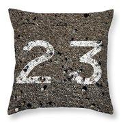 23 Throw Pillow