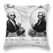 Thomas Jefferson (1743-1826) Throw Pillow