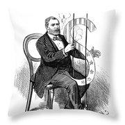 Ulysses S. Grant (1822-1885) Throw Pillow