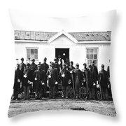 Civil War: Black Troops Throw Pillow