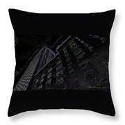 25 Central Park West Throw Pillow