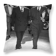 Dwight D. Eisenhower Throw Pillow by Granger