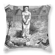 Foxe: Book Of Martyrs Throw Pillow