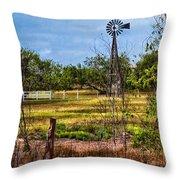 281 Family Farm Throw Pillow