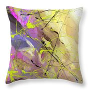 2nd  Symphony Of The Voyage Of The Stars  Throw Pillow