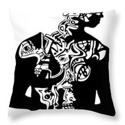 2pac First Throw Pillow