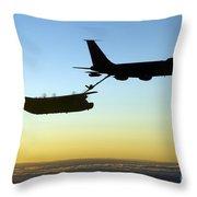 A Mc-130h Combat Talon II Throw Pillow