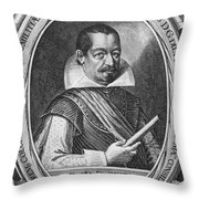 Albrecht Von Wallenstein Throw Pillow