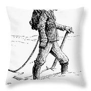 Alpine Mountaineering Throw Pillow