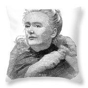 Amelia A. B. Edwards Throw Pillow