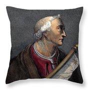 Amerigo Vespucci (1454-1512) Throw Pillow