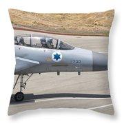 An F-15d Eagle Baz Aircraft Throw Pillow
