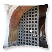 Ancient Gate Throw Pillow