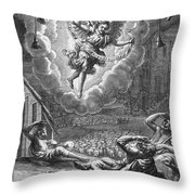 Annunciation To Shepherds Throw Pillow