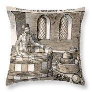Archimedes (c287-212 B.c.) Throw Pillow