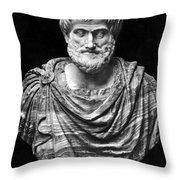 Aristotle (384-322 B.c.) Throw Pillow by Granger