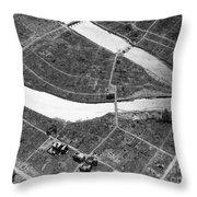 Atomic Bomb Destruction, Hiroshima Throw Pillow