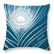 Balance Throw Pillow by Linda Woods