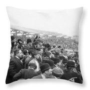 Baseball: Playoff, 1908 Throw Pillow