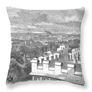 Baton Rouge, 1862 Throw Pillow