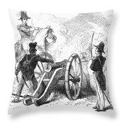 Battle Of Buena Vista Throw Pillow