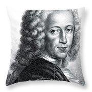 Bernhard Siegfried Albinus, Dutch Throw Pillow