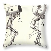 Biomechanics Throw Pillow