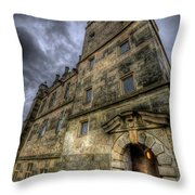 Bolsover Castle Throw Pillow