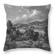 Braddock: Fort Duquesne Throw Pillow