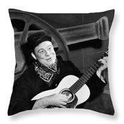 Burl Ives (1909-1995) Throw Pillow
