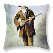 Calamity Jane (c1852-1903) Throw Pillow