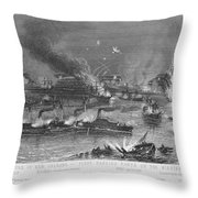 Capture Of New Orleans Throw Pillow