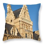 Christchurch College Throw Pillow