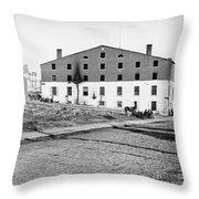 Civil War: Libby Prison Throw Pillow