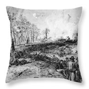 Civil War: Spotsylvania Throw Pillow