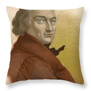Claude-louis Berthollet, French Chemist Throw Pillow