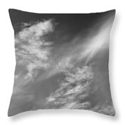 Cloud Imagery Throw Pillow