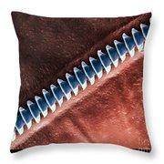 Cricket Sound Comb, Sem Throw Pillow