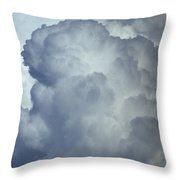 Cumulonimbus Clouds Throw Pillow