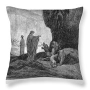 Dante: Inferno Throw Pillow