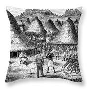 David Livingstone (1813-1873) Throw Pillow